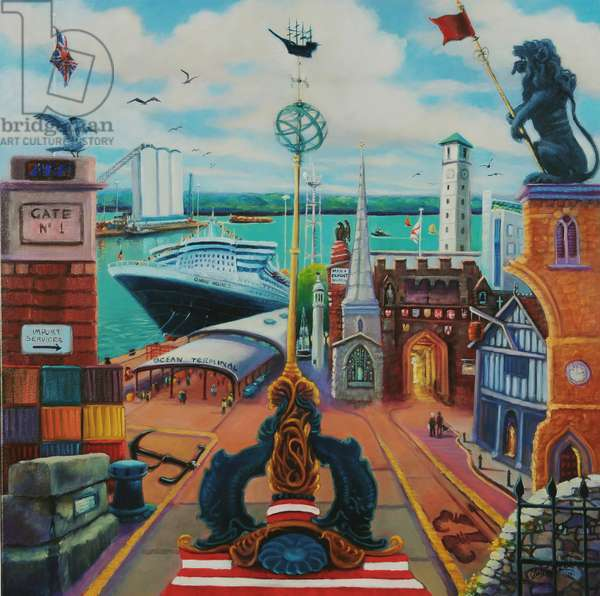 Panoply - Southampton, 2014 (oil on canvas)
