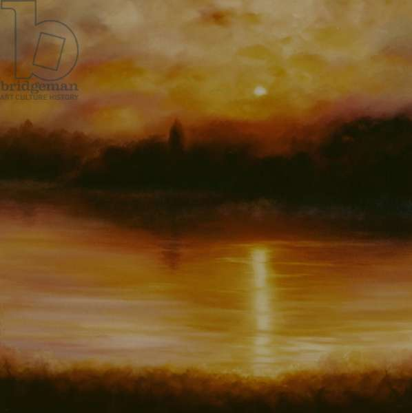 Thames Dream, 2010 (oil on canvas)