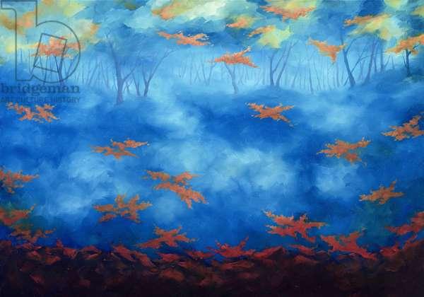 Restless, 2006 (oil on canvas)