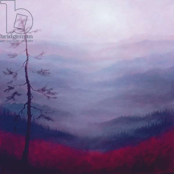 Alpine Pink, 2007 (oil on canvas)
