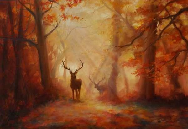 Majesty, 2011 (oil on canvas board)