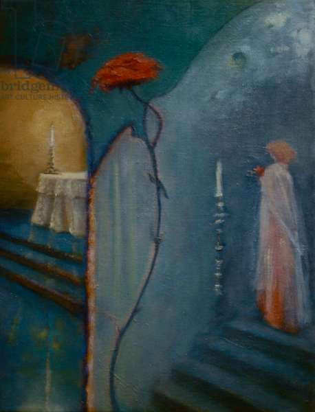 The Altar, 1999 (oil on panel)