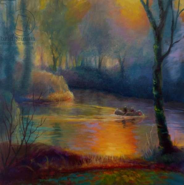 Maple Glow, 2018, (oil on canvas)
