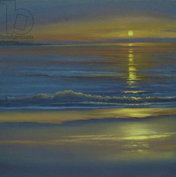 Romance, 2002 (oil on canvas) Seascape