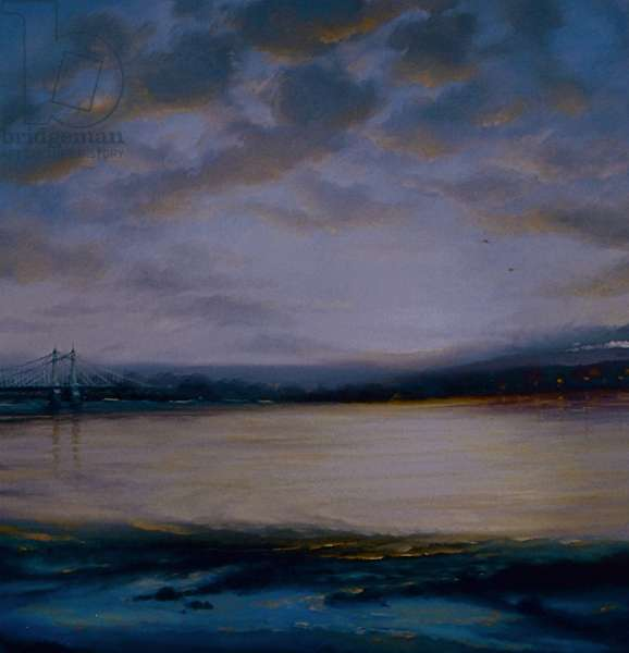 Chelsea Dawn, 2007, (oil on canvas)