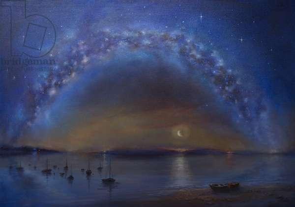 Celestial, 2016, (oil on canvas)