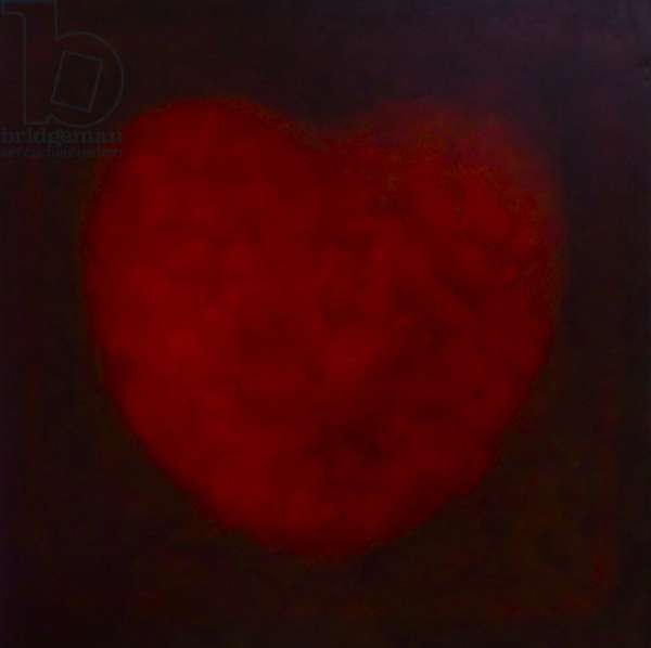 Big Heart, 2014 (oil on canvas) Heart