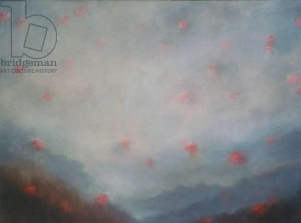 Borne on the Mist, 2011 (oil on canvas)