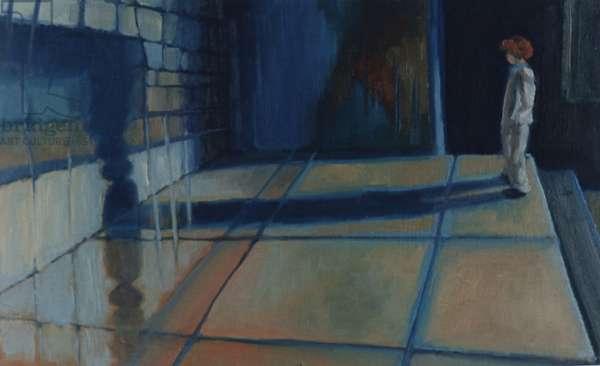 Sarah, 1989, (oil on panel)