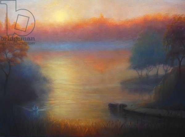 Premiere Lumierie, 2019, (oil on canvas)