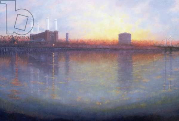 Old Battersea, 2006 (oil on canvas)