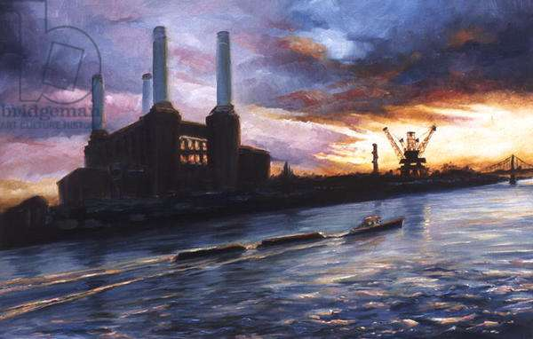 Glory 1999 (oil on paper) Battersea Power Station