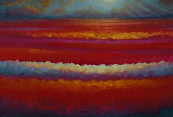 Redscape. 2009 (oil on canvas)