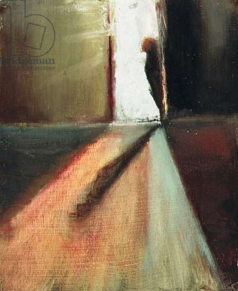 Reprieve, 1997 (oil on panel)