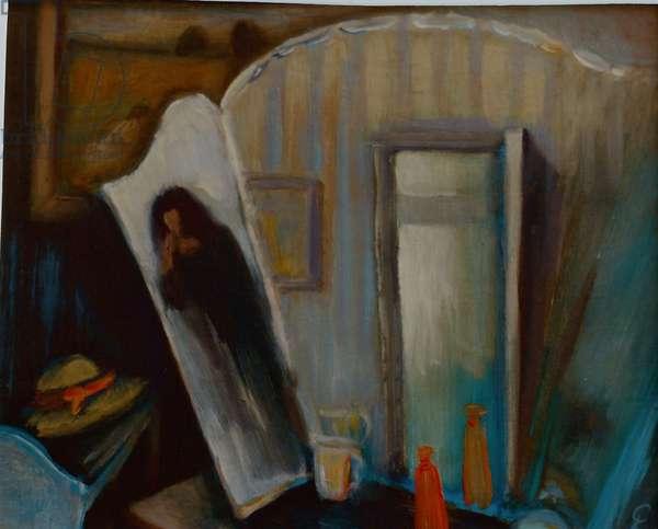 Christine's World, 2000 (oil on panel)