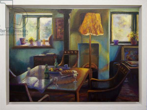Monk's House II, 2016, (oil on canvas)