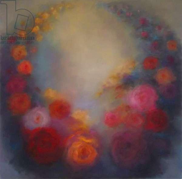 Garland of Joy, 2016, (oil on canvas)