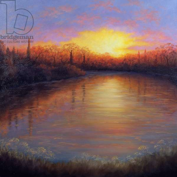 River Glow, 2006 (oil on canvas)