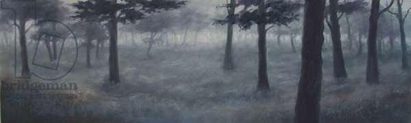Richmond Mist, 2011 (oil on panel)