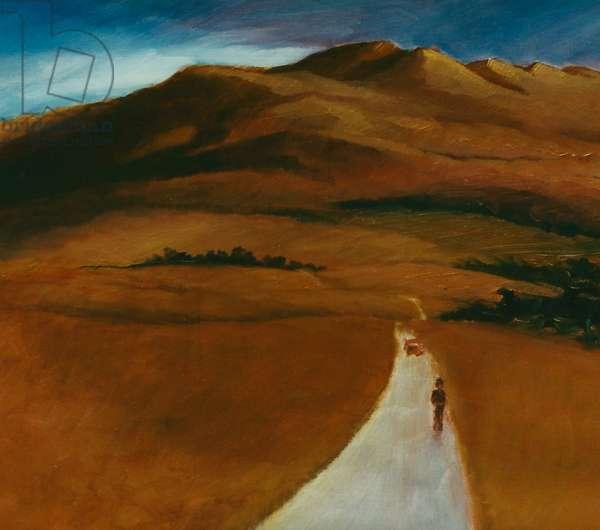 Mr Wright, 1996 (oil on panel)