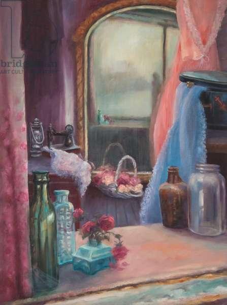 Revenant, 2017, (oil on canvas)
