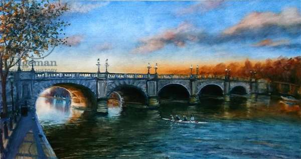 Kingston Bridge 2013 (oil on canvas)