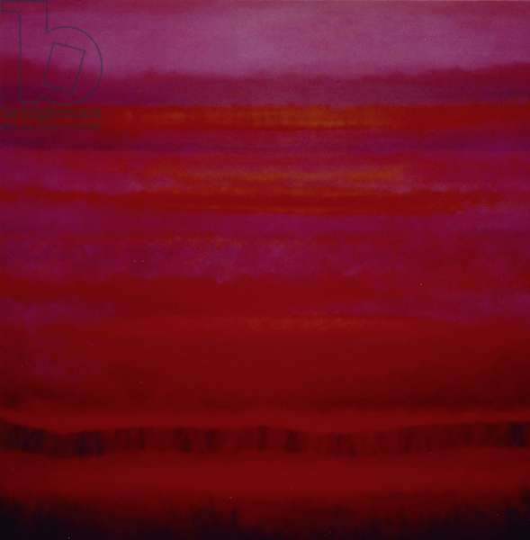 Pinkscape, 2005 (oil on canvas)