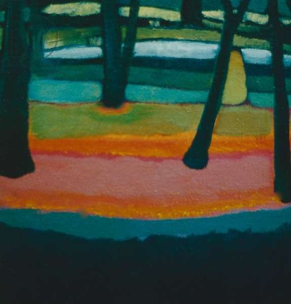 Vigil, 2001 (oil on canvas)