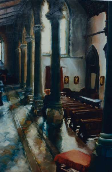 Reverie St. Saviours, 1998 (oil on paper)