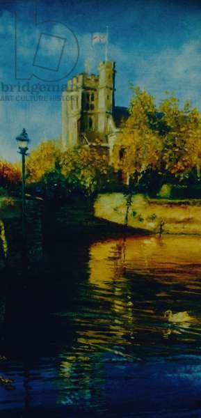 High Tide, 2003 (oil on paper) St. Marys, Twickenham
