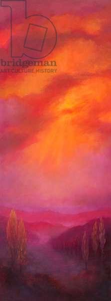 East, 2017, (oil on canvas)