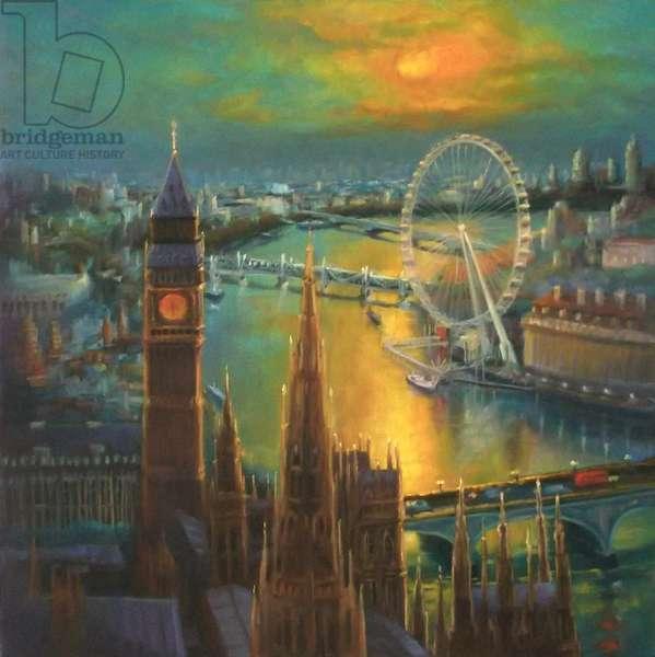 Waterloo Sunrise, 2015, (oil on canvas)