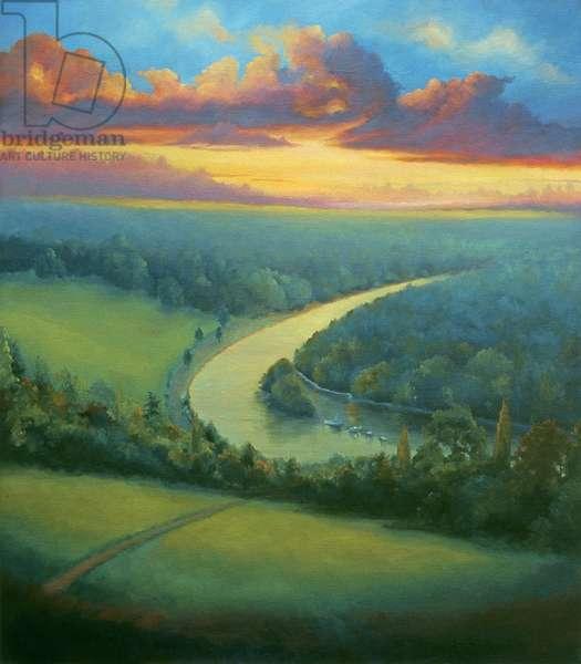Harmony, 2000 (oil on canvas)