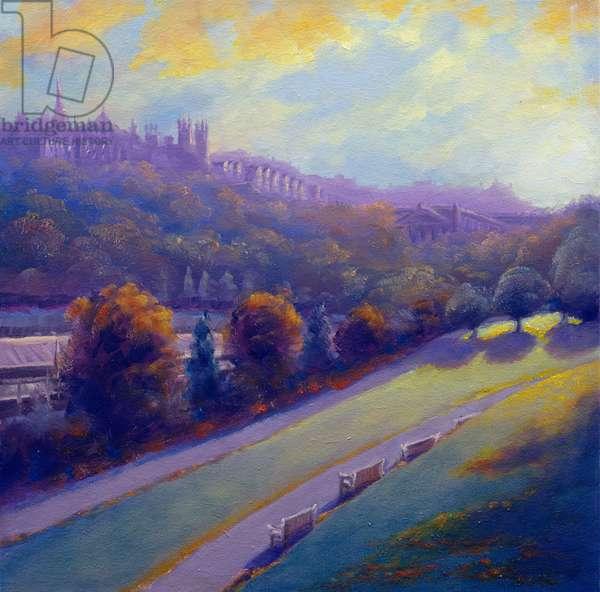 Autumn Edinburgh, 2007 (oil on canvas)