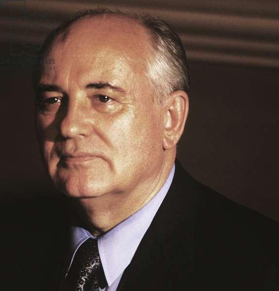 Portrait of Michail Gorbaciov (Mikhail Gorbachev)