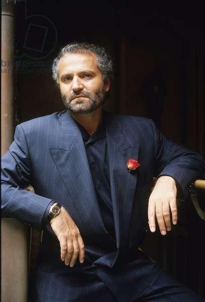 Portrait of Gianni Versace