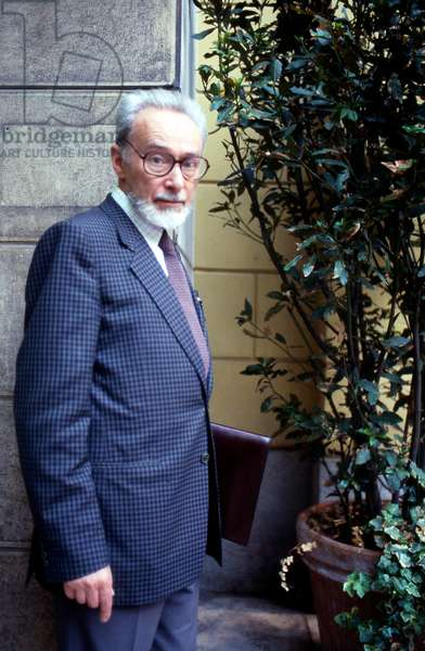 Portrait of Primo (Michele) Levi - June 1985
