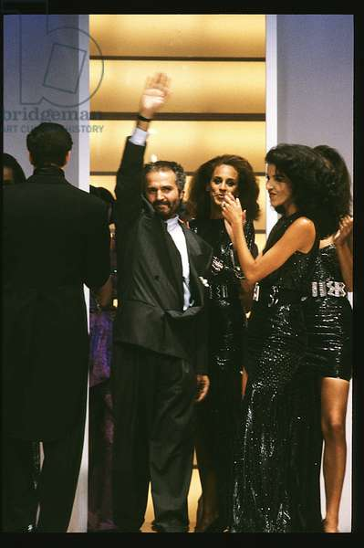 Defile milan 1980s - Portrait of Gianni Versace