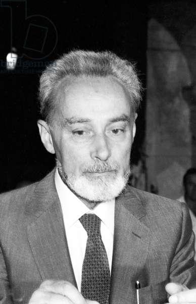 Portrait of Primo Levi - Venice - 1982