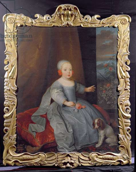 Hon Catherine (d.1719) daughter of 2nd Lord Colepeper (oil on canvas)