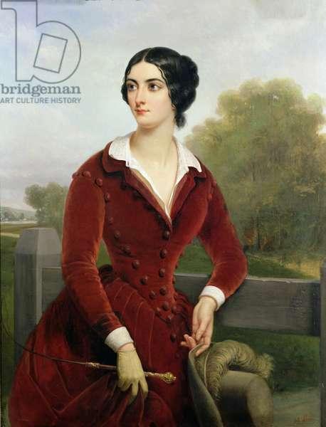 Eliza Gilbert (1821-61) (oil on canvas)