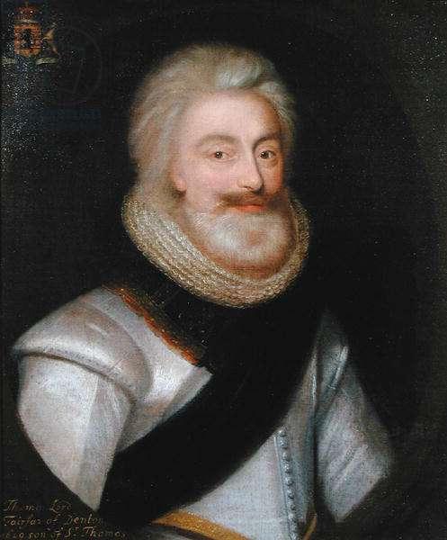 Thomas (1560-1640) 1st Lord Fairfax, 1629 (oil on canvas)
