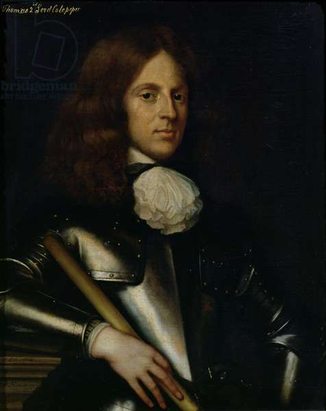 Thomas (1635-1689) 2nd Lord Culpeper (oil on canvas)