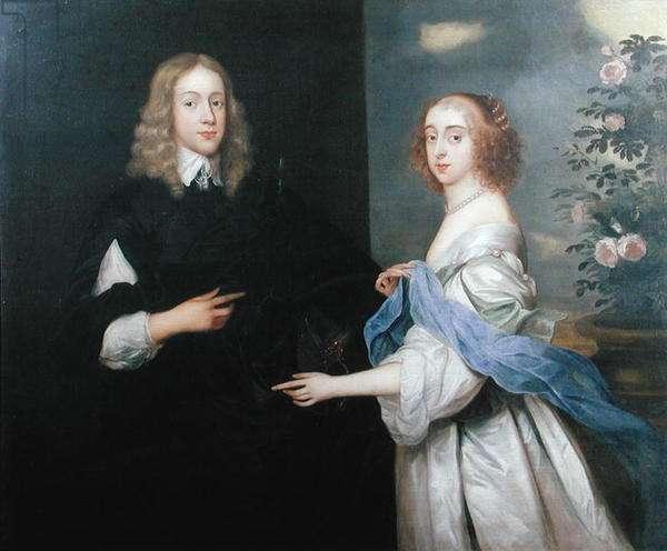 Jan van Hesse and his sister Margaret (d.1710) (oil on canvas)