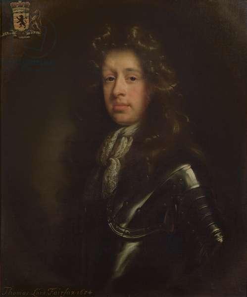 Thomas (1657-1710) Lord Fairfax, 1684 (oil on canvas)