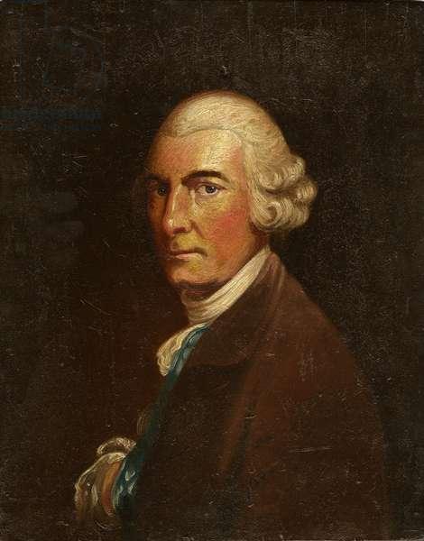 Portrait of George William Fairfax (oil on panel)