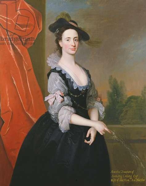 Martha Fairfax (oil on canvas)