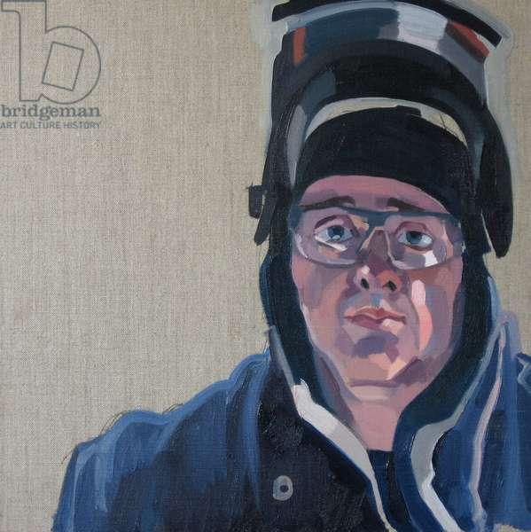 Govan portrait (oil on linen)