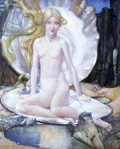 The Birth of Venus, c.1920 (oil on canvas)