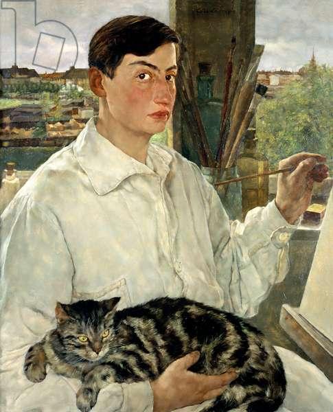 Self Portrait, 1928 (oil on canvas)